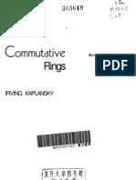 Kaplansky Commutative Rings