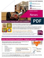 Careers NEWS 27th Jan 2012