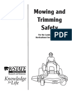 Mowing-trimming Safety Manual