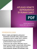 APLIKASI KOMITE KEPERAWATAN.pptx