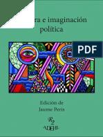 Cultura, literatura e imaginación política. La verosilimitud va a cambiar de bando. Jaume Peris Blanes