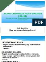Kajian Lingkungan hidup Strategis.ppt