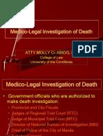 Lec_6_-_Medico-Legal_Investigation_of_Death.ppt;filename_= UTF-8''Lec 6 - Medico-Legal Investigation of Death-2.pptx