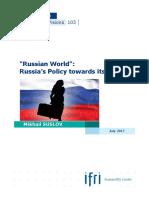Suslov Russian World 2017