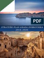 Strateški Plan Grada Dubrovnika 2018. – 2020. Godine