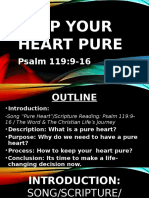 Keep Your Heart Pure