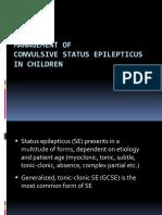 EMD2 - K9 - Status Epilepticus