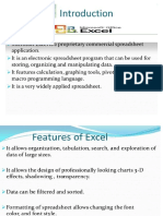Introduction to Excel(1) (1)