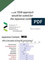 How Teeb Approach (d2 Japan)