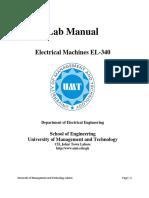EL340 Electrical Machines Lab Manual.pdf