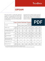 Foam Control Geofoam TechData