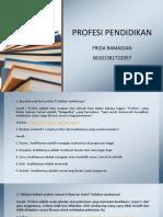 Ppt Sap 2 Dan 3 Profesi Pendidikan