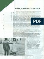 Nota periodística 1991 El Heroe, El Traidor y El Escritor