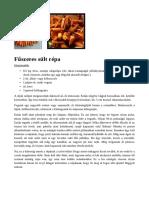 Fűszeres Sült Répa Paleo