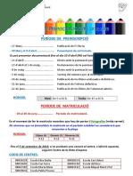 Informació sobre la Preinscripció 19-20 a l'Elisa Badia