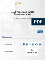 Emerson - Best practices in SIS documentation