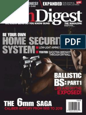 Gun Digest - 2019-03 pdf | Gun Barrel | Telescopic Sight