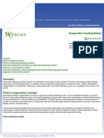 Wescor Evaporative Cooling White Paper
