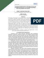 ASP02 Pengaruh faktor-faktor rasional, politik, dan kultur organisasi terhadap pemanfaatan informasi kinerja instansi pemerintah daerah