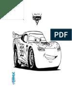 Dibujo niños coche