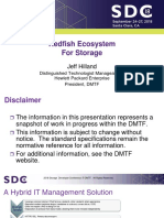 Hilland Jeff Redfish Ecosystem for Storage