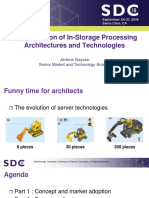 Gaysse Jerome a Comparison of in-Storage Processing Architectures and Technologies