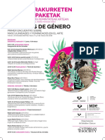 Lecturas de género Universidad País Vasco