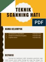 Teknik Scanning Hati