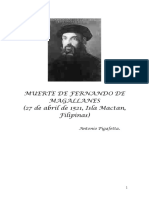 1521+ 10-MUERTE DE MAGALLANES (Pigafetta) - 9 págs.