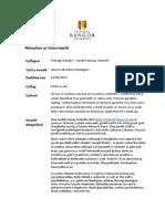 10. Intern Cofnodion Planhigion - Treborth