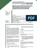 NBR 11676-1992 - MÉTODOS PARA ANÁLISE DE DOCUMENTOS - DETERMINAÇÃO DE SEUS ASSUNTOS E SELEÇÃO DE TERMOS DE INDEXAÇÃO.pdf
