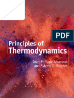 Jean-Philippe Ansermet, Sylvain D. Brechet - Principles of Thermodynamics-Cambridge University Press (2019)