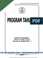 RPP Kelas 1 Tema 3