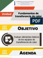 Unidad II - Fundamentos de Transferencia de Calor