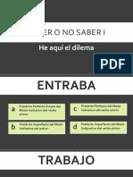Flexion Verbal-cuadernillo de Textos Cláusulas Para Analizar