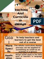 Teaching & Curriculum Design