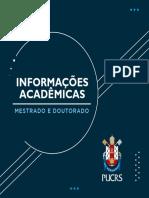 Informações acadêmicas PUC RS