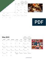 Activation Calendar