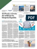 El Perú y El Reto de Utilizar La Biopsia Líquida
