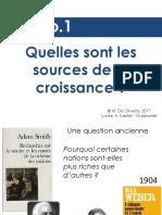Tle Ch1 Quelles Sont Les Sources de La Croissance FdO
