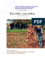 Escribir con niños, Sergio del Molino.docx