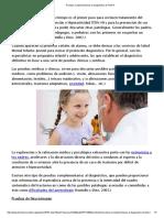 Evaluación completa de TDAH