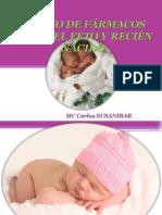 1. Efectos de Los Fármacos Sobre El Feto y El Recien Nacido