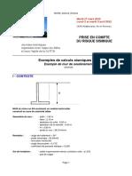 Exemples de calculs sismiques Exemple de mur de soutènement (énoncé) T. Mary.pdf