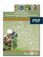 MoA & FAO - Comprehensive Assessment of Ag Sector - 2007