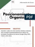 Curso Posicionamiento Organico