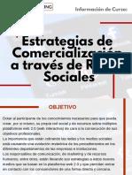 Curso Estrategias de Comercialización a Través de Redes Sociales