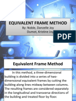 Equivalent Frame Method