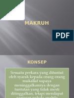 MAKRUH