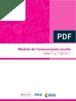 Modulo de comunicacion escrita Saber tyt 20161.pdf